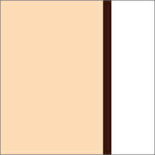 Vanilla/White/Brown 50047